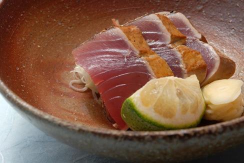 紀州勝浦産 鰹の塩たたき